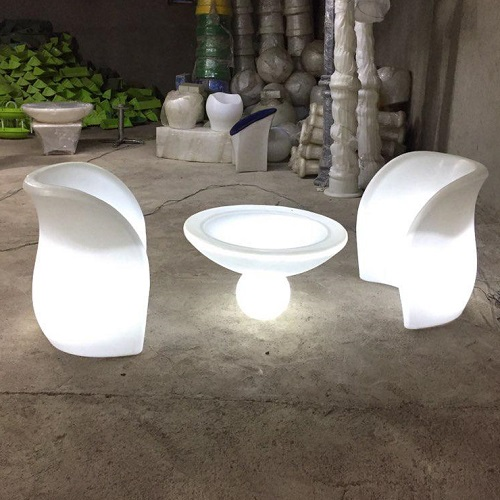 SOFA LED LIGHT Table Cube Counter